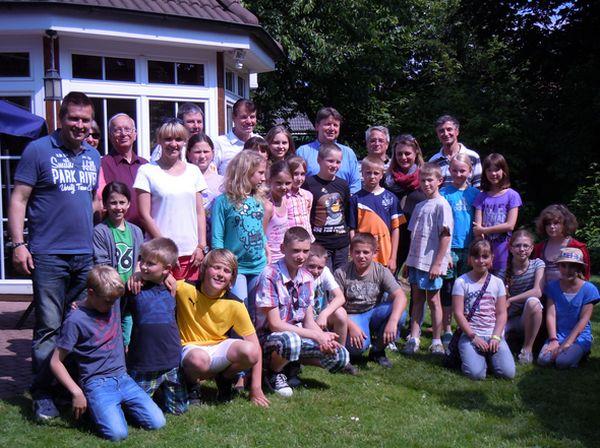 21 Kinder zu Besuch im Kinderhilfswerk
