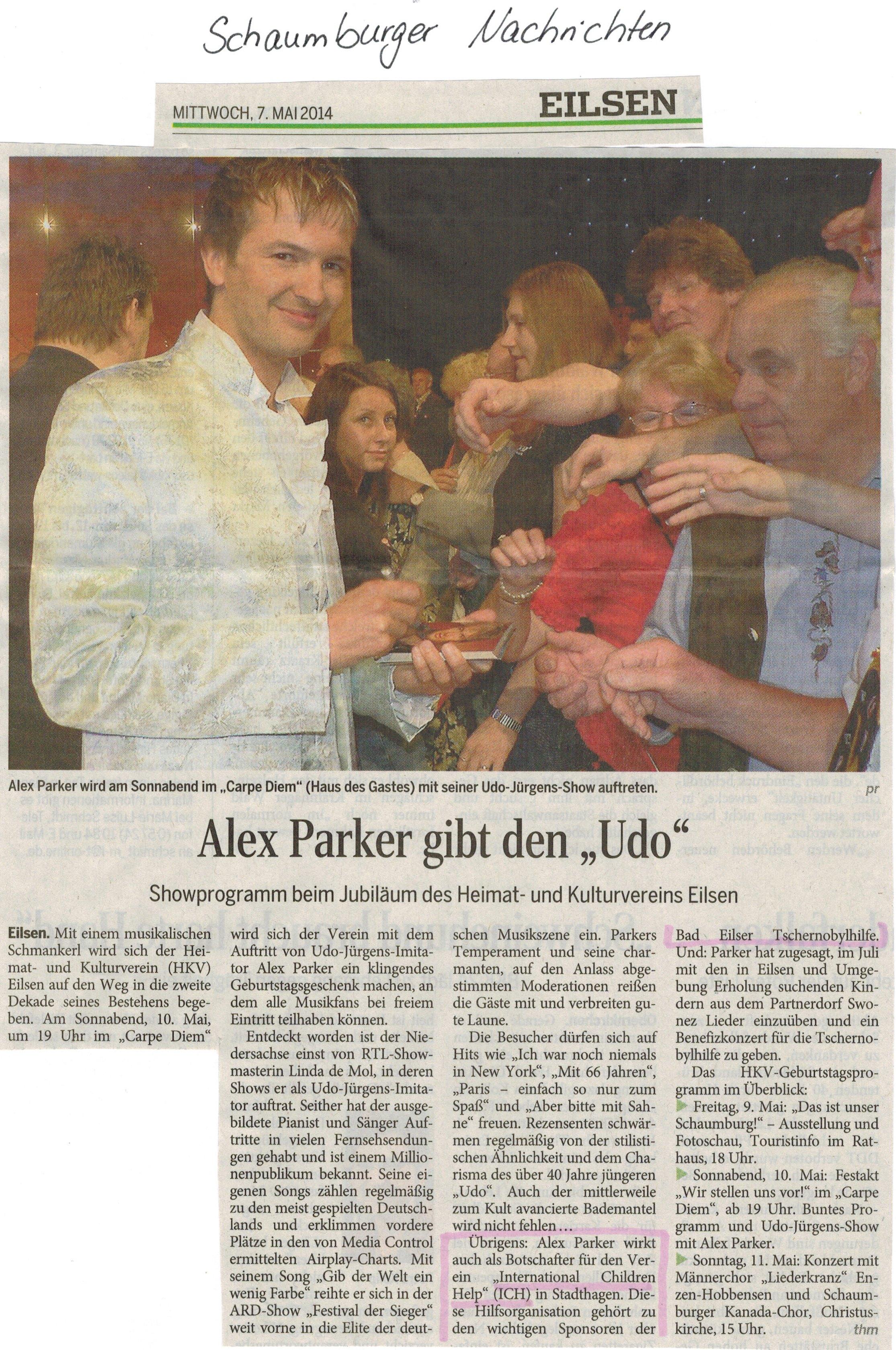 2014-05-12 Alex Parker gibt den Udo