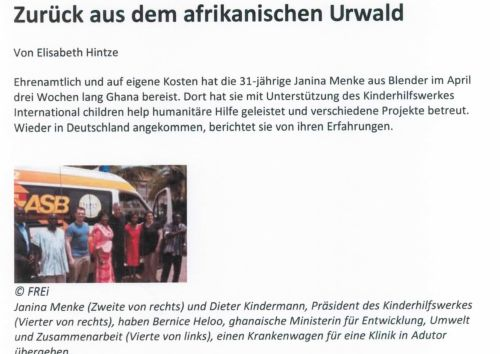 2014-05-22 Janina Menke in Ghana