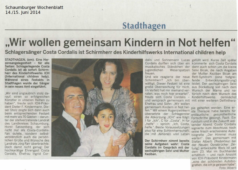 2014-06-14_Schaumburger_Wochenblatt_Costa_Cordalis