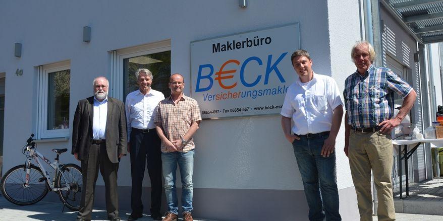 Beck Makler Eröffnung