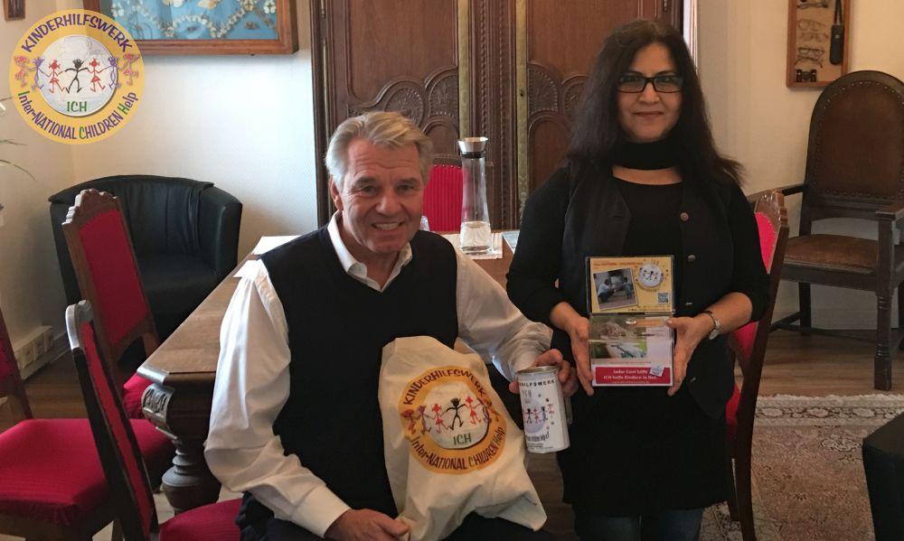 Stadthäger Schneiderin Gürsan Celimli besitzt ein großes Herz Kinderhilfswerk ICH e.V.