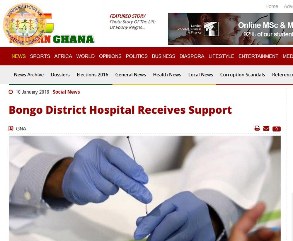 ICH - International children help e.V. - Stadthagen - Deutschland - www.ichev.de - Ghana - Gerhard Lauth - Bongo Discrict