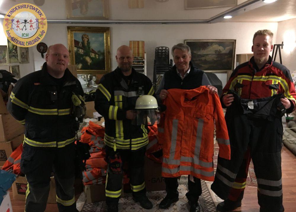 ICH - International children help e.V. - Stadthagen - Deutschland - www.ichev.de - Paraguay - Feuerwehr - Unterstützung