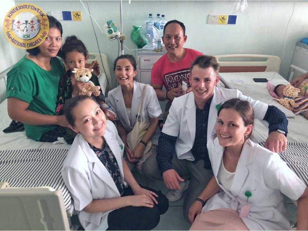 Tröste-Tillys aus Schaumburg sind auf Bali herzlich willkommen