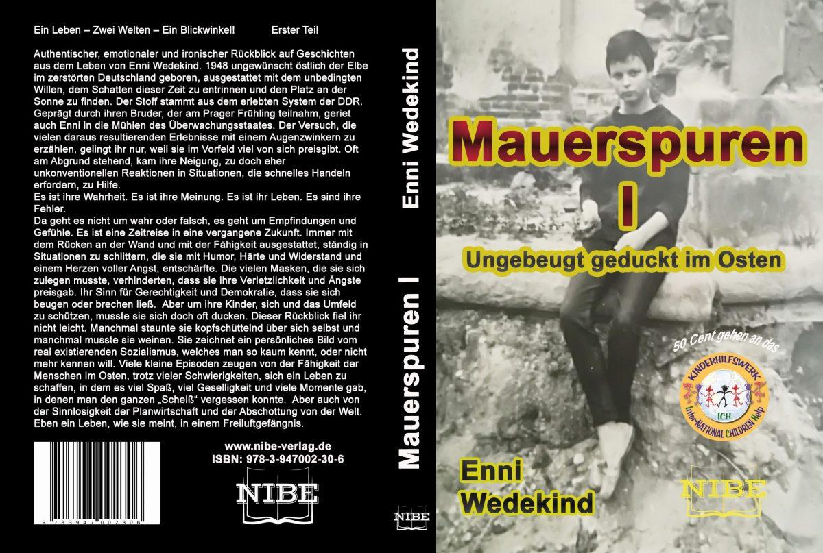 Schriftstellerin Enni Wedekind sowie der NIBE Verlag spenden