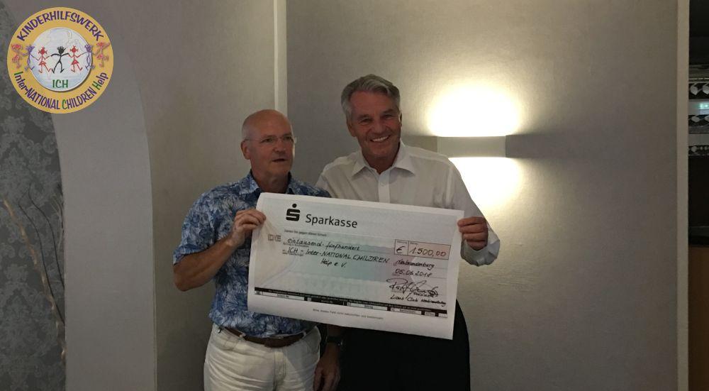 Lions Club Neubrandenburg unterstützt Afrikahilfsmaßnahmen