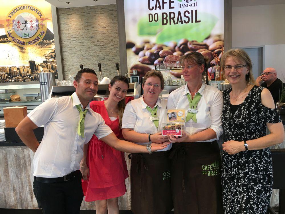 Café do Brasil gehört zu den permanenten Spendern