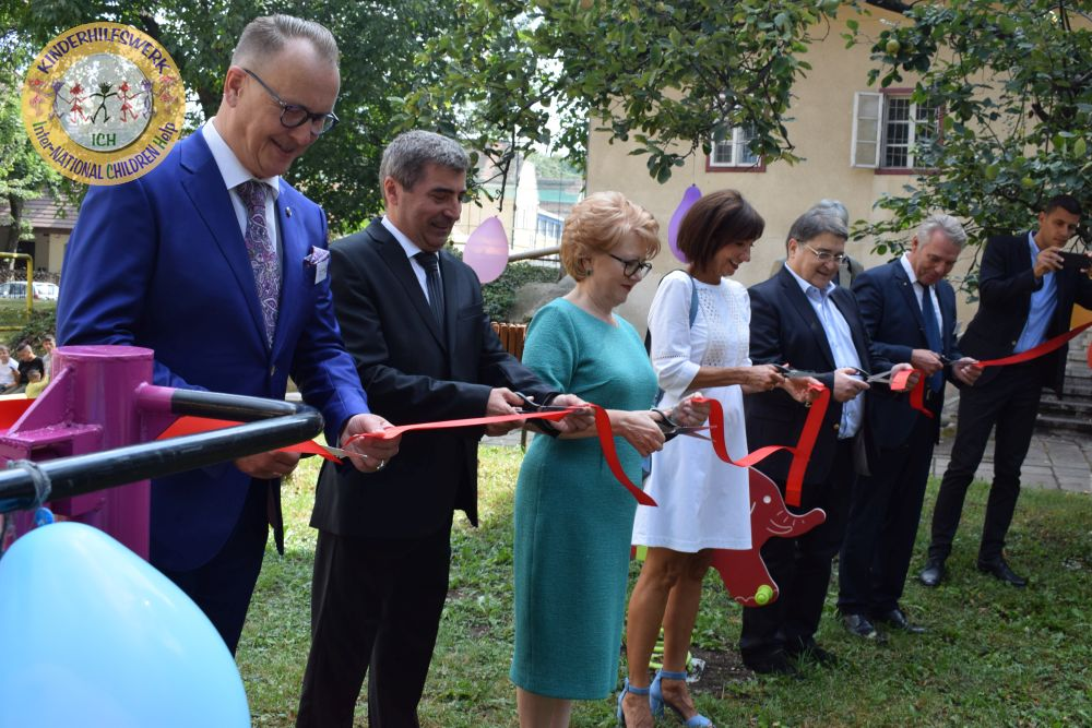 Spielplatz in Sibiu-Hermannstadt eingeweiht
