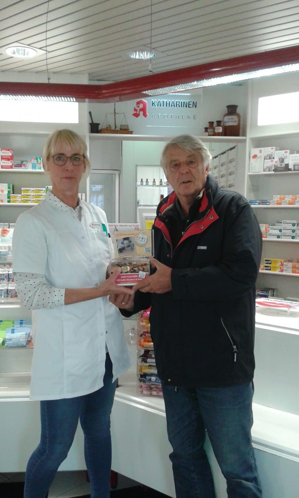 Kinderhilfswerksförderer in Neubrandenburg aktiv