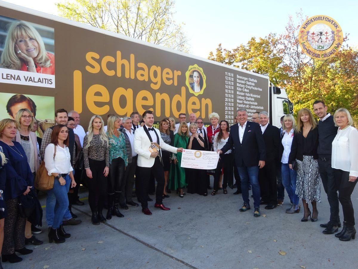 Schlagerlegenden touren für ICH e.V. durch Deutschland