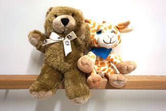 Teddys trösten Kinder in der Zentralen Notaufnahme