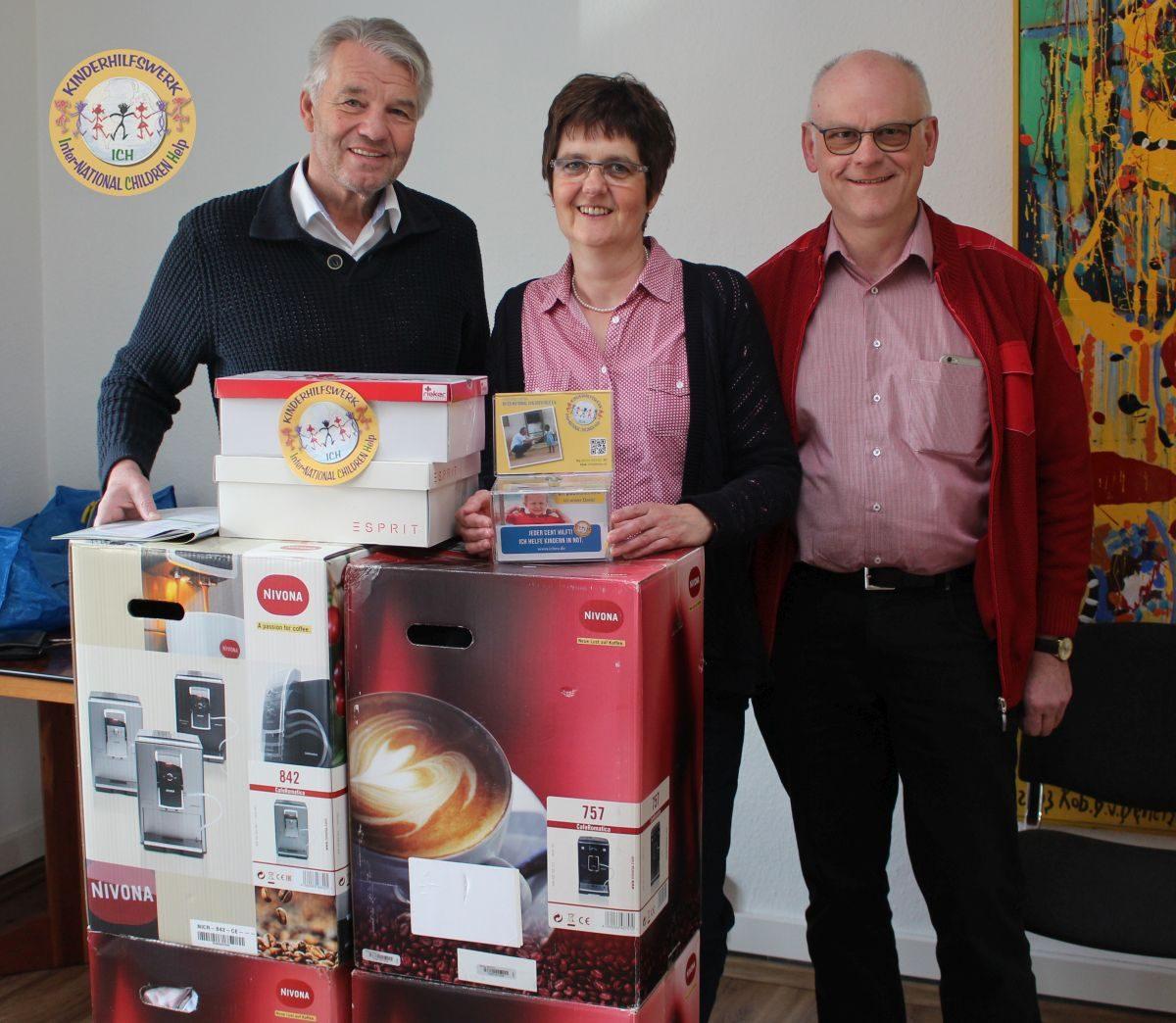 Elektronikfachhandel van Haren aus Bedburg-Hau/Huisberden hilft Kindern in Not