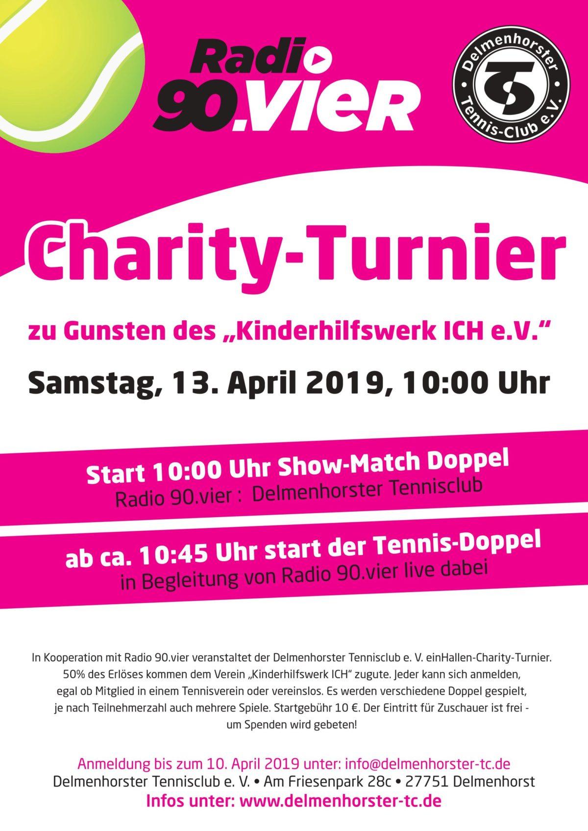 Charity Turnier Radio 90.vier und ICH e.V.