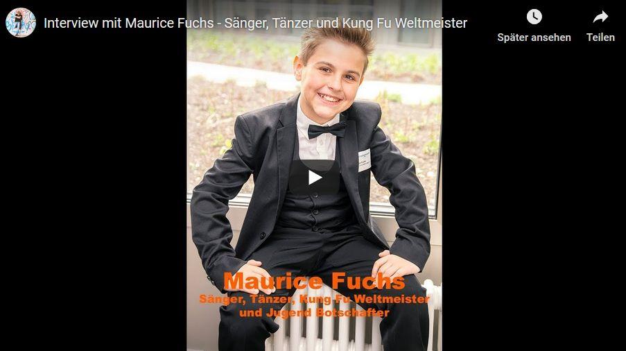 Maurice Fuchs Interview – mehrfacher Meister im Kung Fu