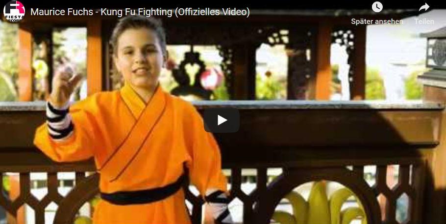 Maurice Fuchs (offizieller Jugendbotschafter ICH e.V.) – Video Kung Fu Fighting