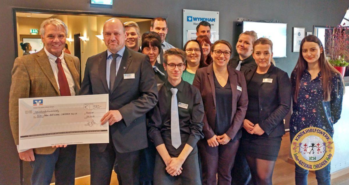 Wyndham Hannover Atrium Hotel–Team hilft seit Jahren