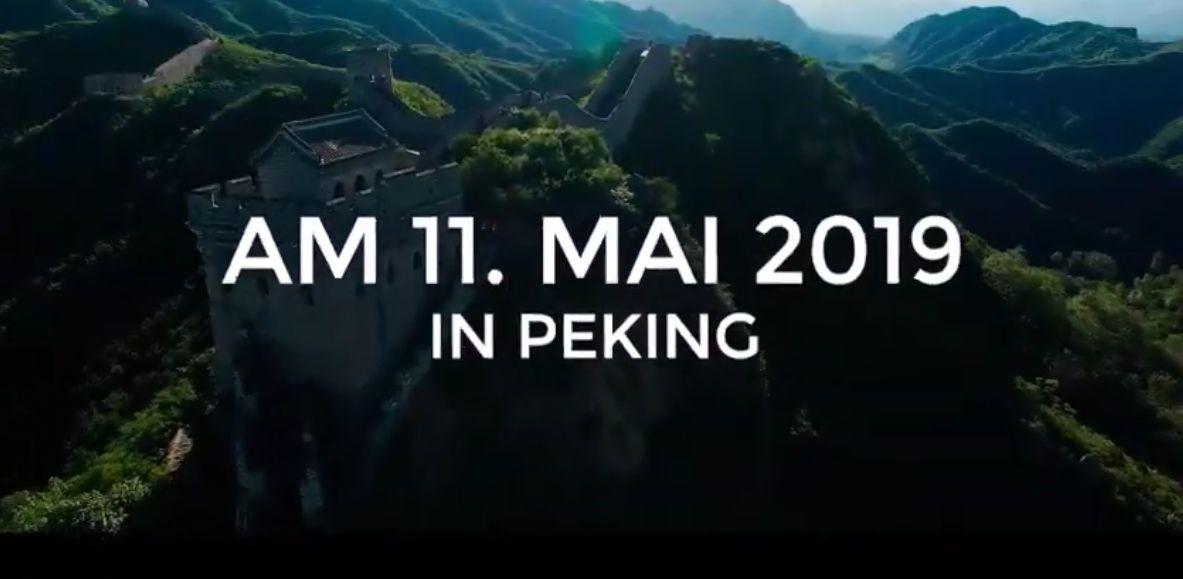 Das Video vor dem China Mauerlauf