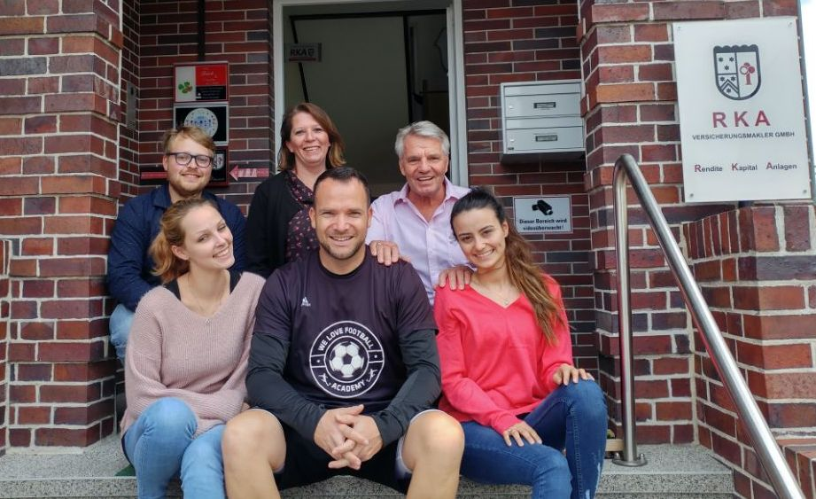 Fußballer Christian Alder zu Gast bei ICH e.V.