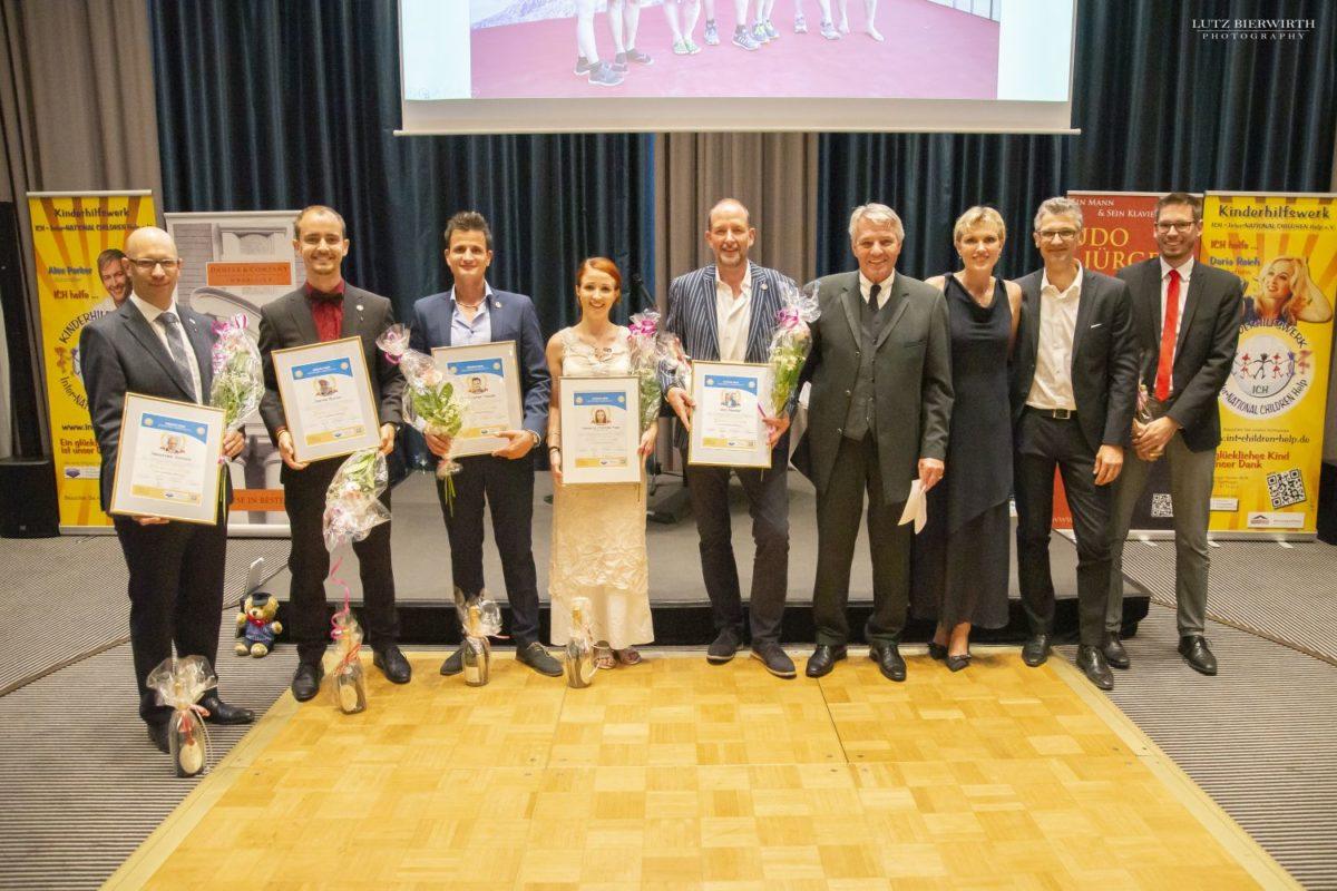 Marathon-Team wurde anlässlich einer ICH e.V. Gala geehrt