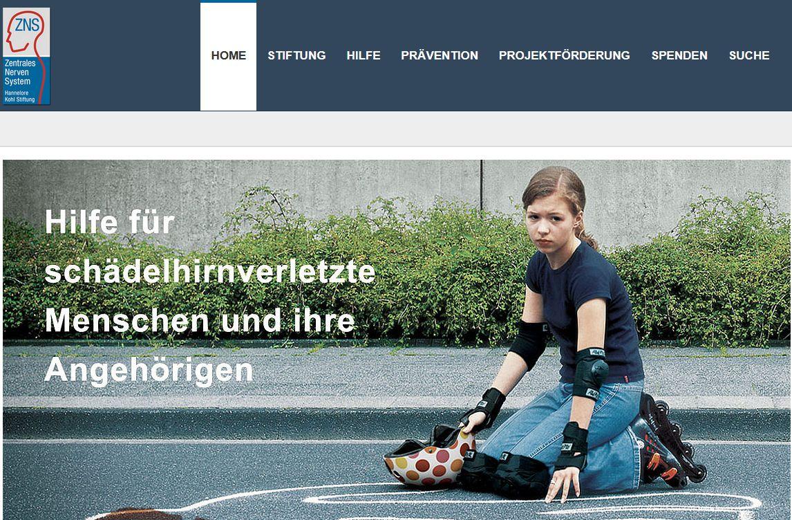 Dankesbrief der Hannelore Kohl Stiftung