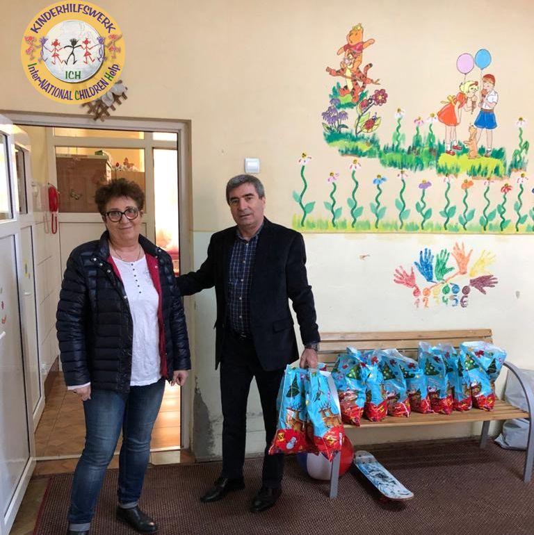 Dorina Aulich liefert Hilfsgüter direkt ins Waisenheim