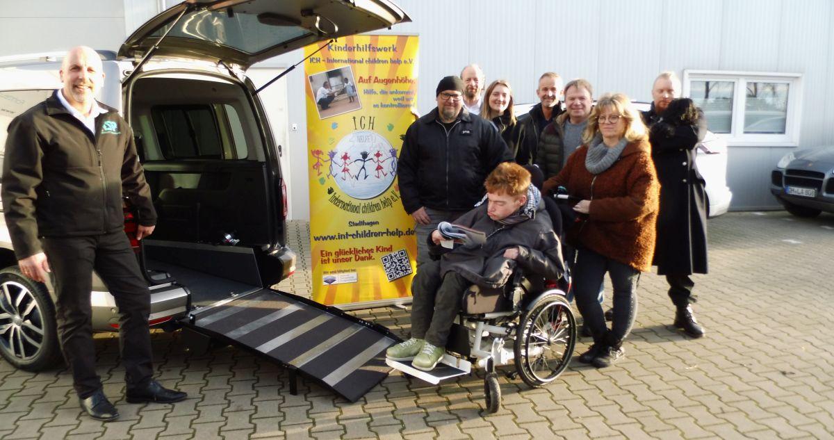 Rollstuhlrampe-Übergabe 20.12.2019