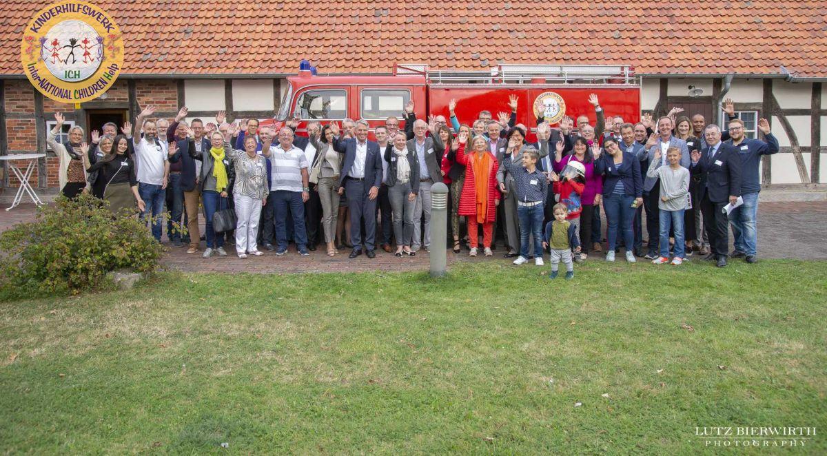 Feuerwehrlöschfahrzeug auf dem Weg nach Paraguay