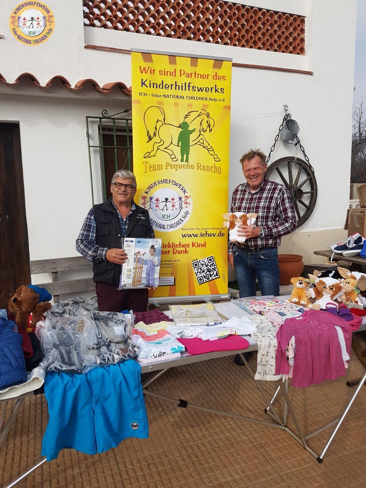 Kinderherzen und strahlende Augen in Spanien