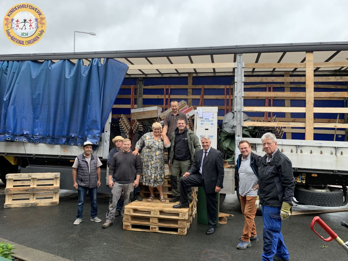 10 Tonnen Hilfsgüter auf dem Weg nach Cherson / Ukraine