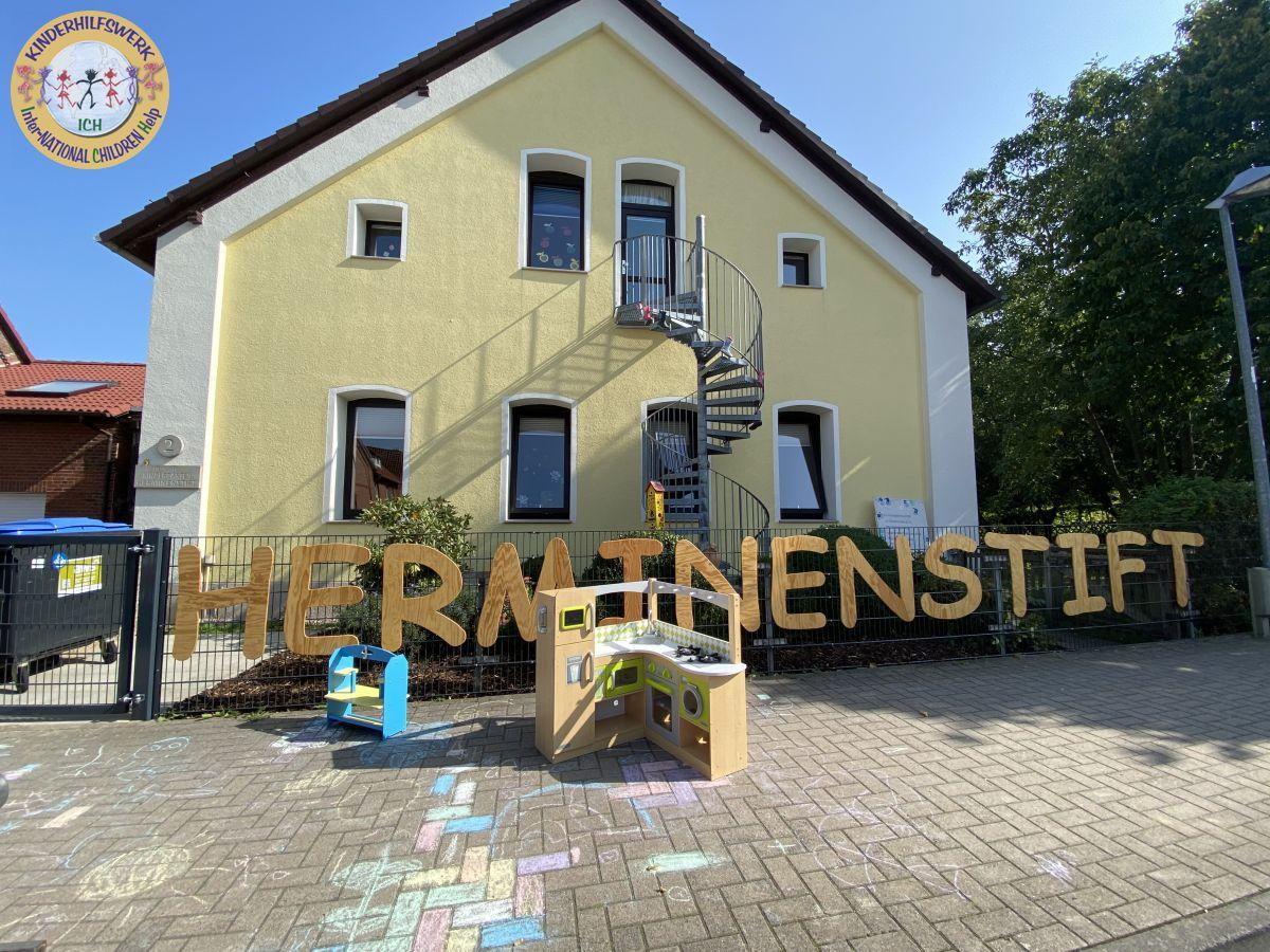 Städtischer Kindergarten Herminenstift erhält Küchenspende