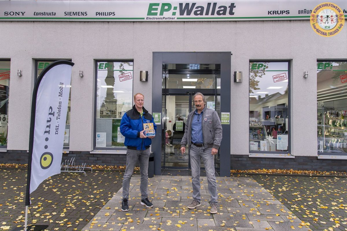 Manfred Wallat Elektro GmbH aus Schladen beteiligt sich an der Spendenaktion für das Kinderhilfswerk ICH e.V.