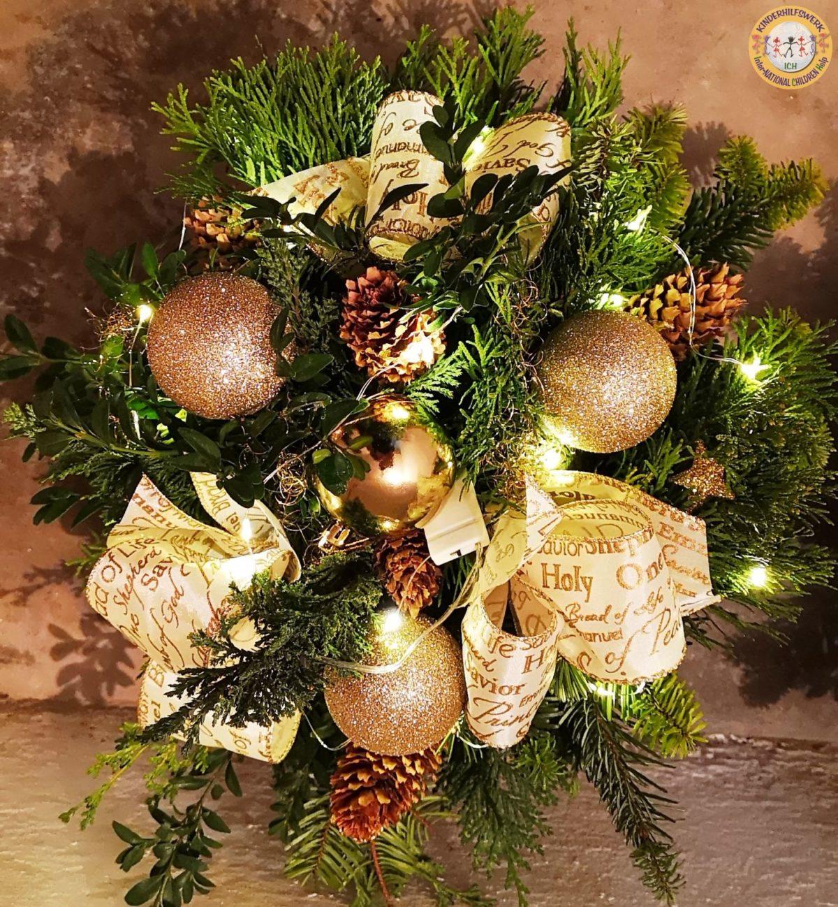 Weihnachtslichtersträuße zugunsten ICH e.V. – jetzt bestellen