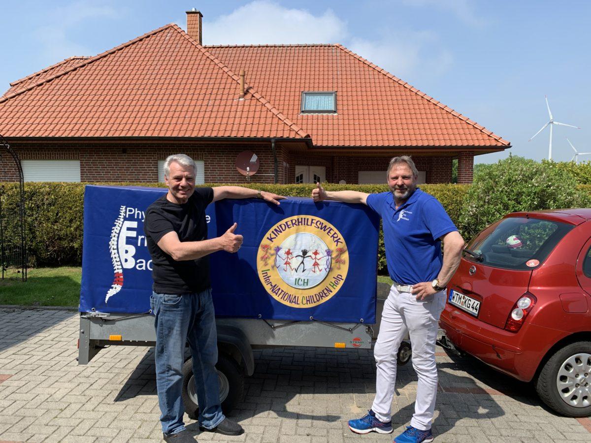 ICH e.V. Botschafter Fritz Backhaus on tour