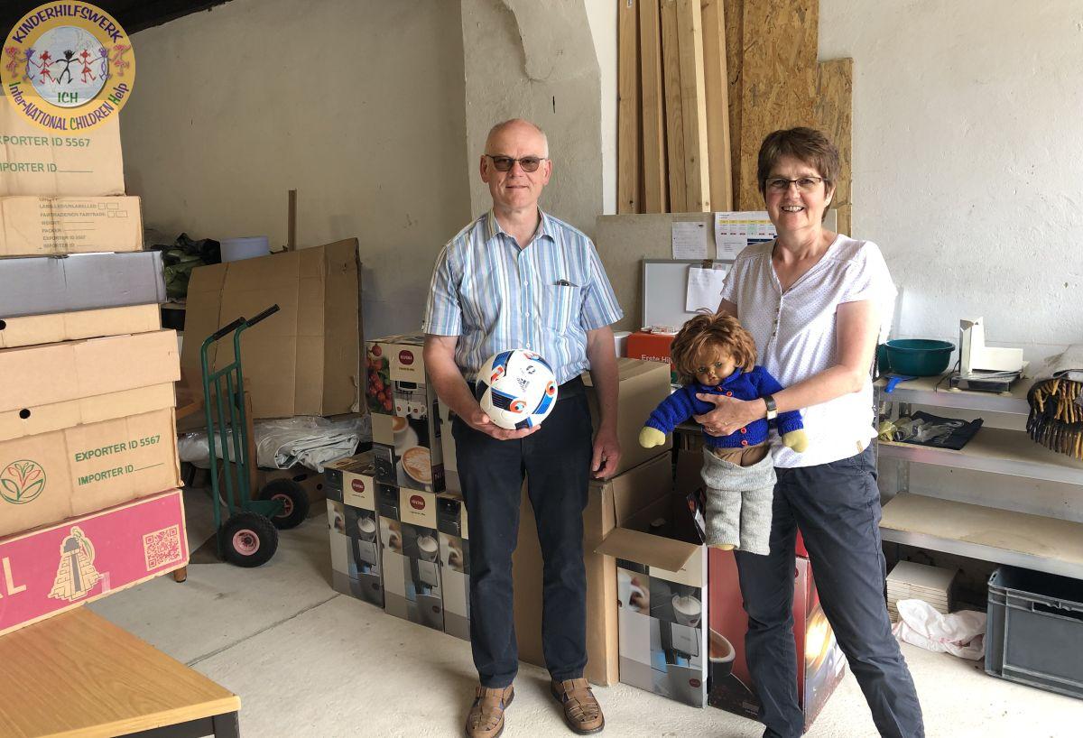 Eheleute Heidi & Rainer van Haren unterstützen seit vielen Jahren